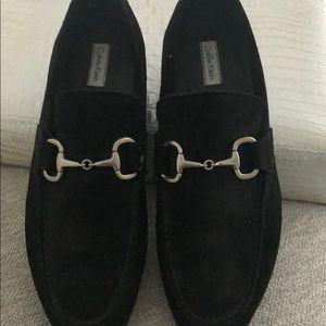 Men's Calvin Klein Suede Loafers
